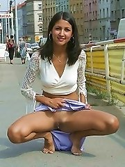Evas Very Quick Squat^naked Girls On The Streets Public XXX Free Pics Picture Pictures Photo Photos Shot Shots